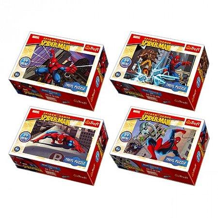 Пазлы Trefl Mini 54 (4 в 1) - Spiderman. 4х54 pcs (54101)