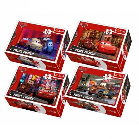 Пазлы Trefl Mini 54 (4 в 1) - Тачки-2. 4х54 pcs (54107)