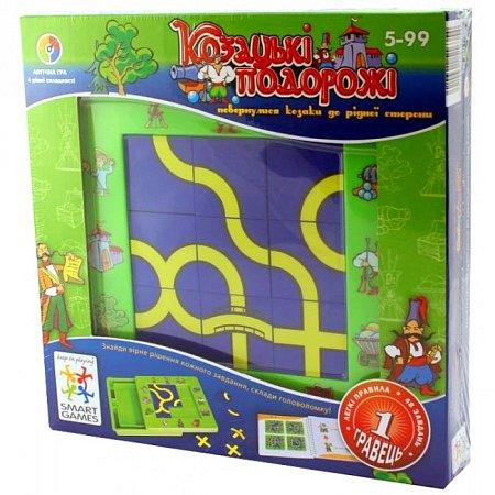 Настольная игра Козацькі Подорожі (Козацкие путешествия) Smart Games (SG UKR 001)