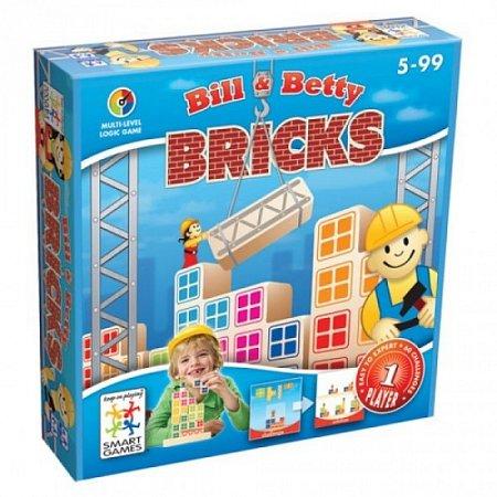 Настольная игра Білл та Бетті. Цеглинки SMART GAMES (SG 016)