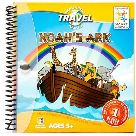 Магнитная дорожная игра Ноїв ковчег SMART GAMES (SGT 240 UKR)
