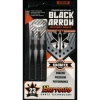 Дротики Harrows Black Arrow steeltip 23g