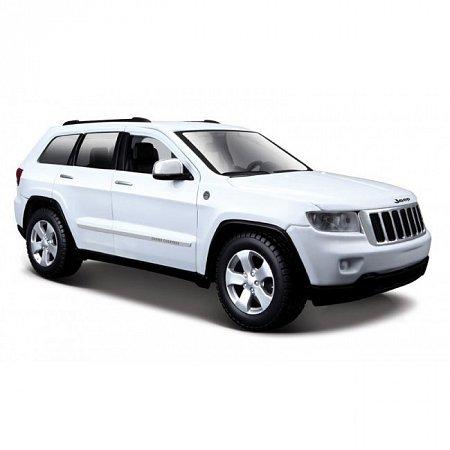 Автомодель Jeep Grand Cherokee 2011 (белый). MAI31205W