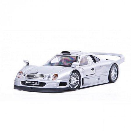 Автомодель Mercedes CLK-GTR street version (серебристый). MAI31949S