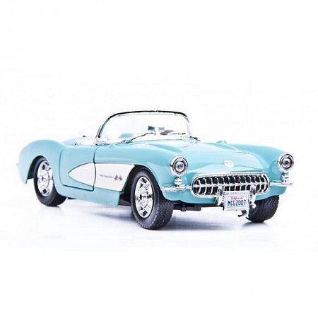 Автомодель 1957 Chevrolet Corvette (голубой). MAI31275LB