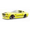 Автомодель 1967 Ford Mustang GT (жёлтый - тюнинг). MAI31094Y