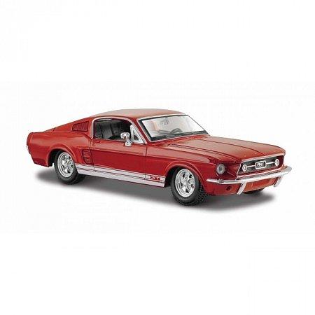 Автомодель 1967 Ford Mustang GT (красный). MAI31260R