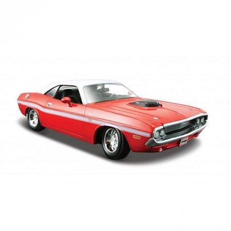 Автомодель 1970 Dodge Challenger R/T Coupe (красный). MAI31263R