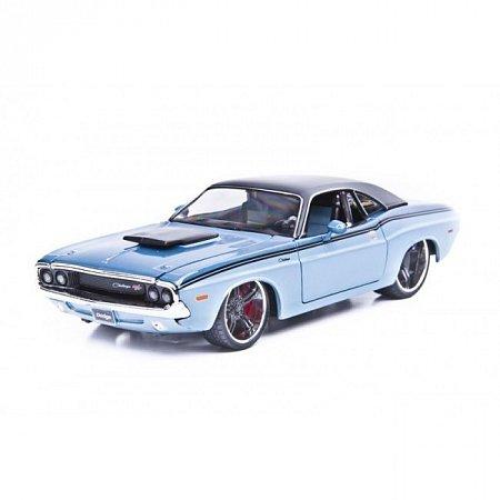 Автомодель 1970 Dodge Challenger R/T Coupe (синий-тюнинг). MAI31014B