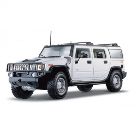 Автомодель 2001 Hummer H2 SUT Concept (тёмно-серый). MAI31233P