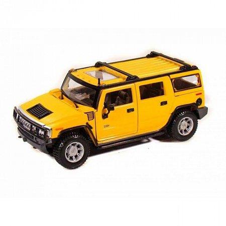 Автомодель 2003 Hummer H2 SUV (жёлтый). MAI31231Y