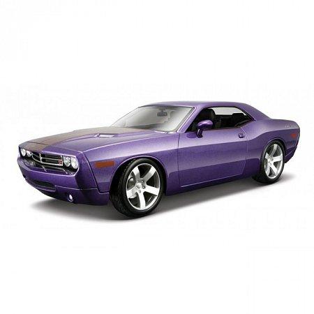 Автомодель 2006 Dodge Challenger Concept (фиолетовый металлик). MAI36138MP