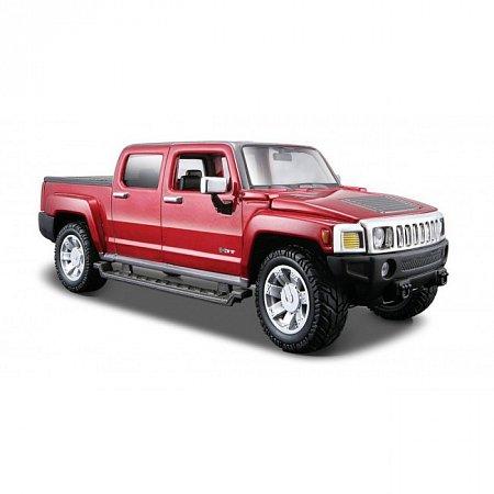 Автомодель 2009 Hummer H3T (красный металлик). MAI31286MR
