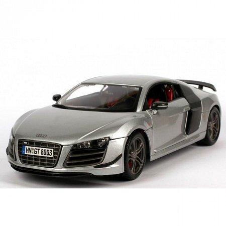 Автомодель Audi R8 GT (серебристый). MAI36190S