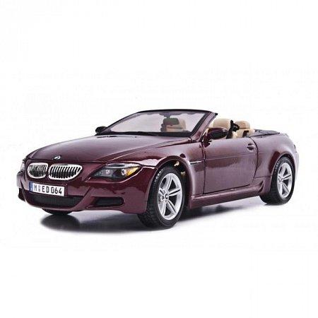 Автомодель BMW M6 Cabriolet (красный металлик). MAI31145MR