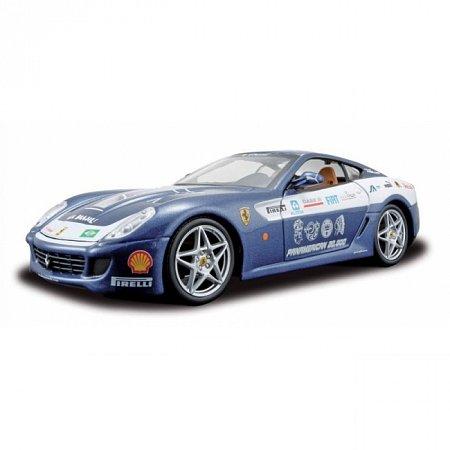 Автомодель Ferrari 599 GTB Fiorano Panamerican Tour (синий металлик). MAI39109B