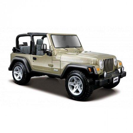 Автомодель Jeep Wrangler Rubicon (светло-зелёный). MAI31245LK
