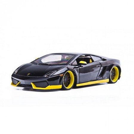 Автомодель Lamborghini Gallardo LP560-4 (черный - тюнинг). MAI31352B
