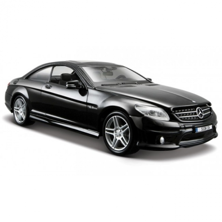 Автомодель Mercedes-Benz CL63 AMG (черный металлик). MAI31297MB