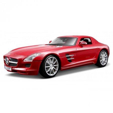 Автомодель Mercedes-Benz SLS AMG (красный металлик). MAI36196MR