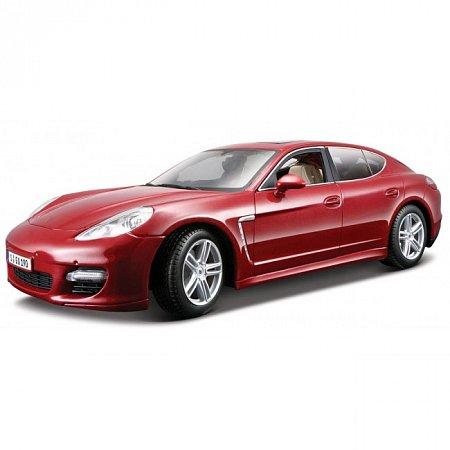 Автомодель Porsche Panamera Turbo (красный металлик). MAI36197MR