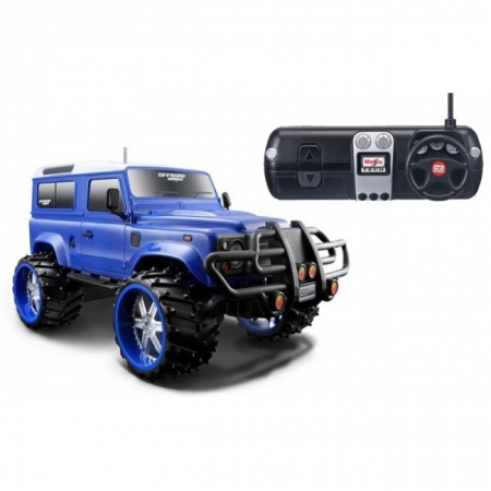 Автомодель на р/у Land Rover Defender (аккум. 6v + 1х9v). MAI81096