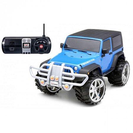 Автомодель на р/у Jeep Wrangler Rubicon (акум. 6v + 1х9v). MAI81098
