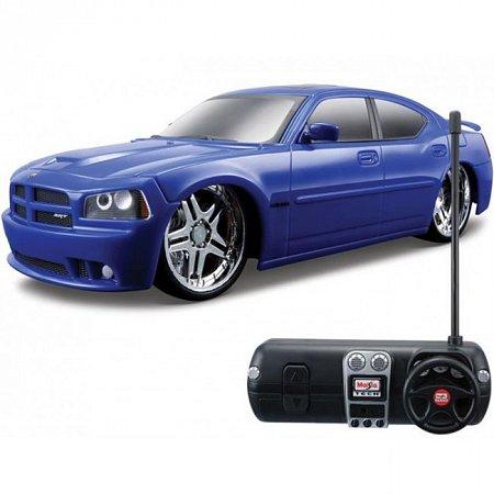 Автомодель на р/у 2006 Dodge Charger SRT-8 (синий). MAI81052B