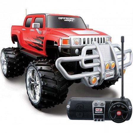 Автомодель на р/у Hummer H3T (красный) (аккум. 6v + 1х9v). MAI81099