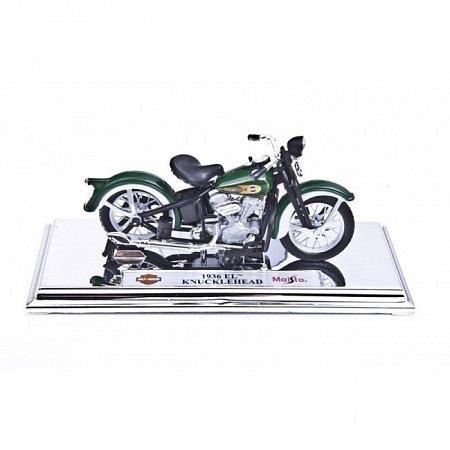 Модель мотоцикла Harley-Davidson 1936 EL KNUCKLEHEAD. MAI39360-30