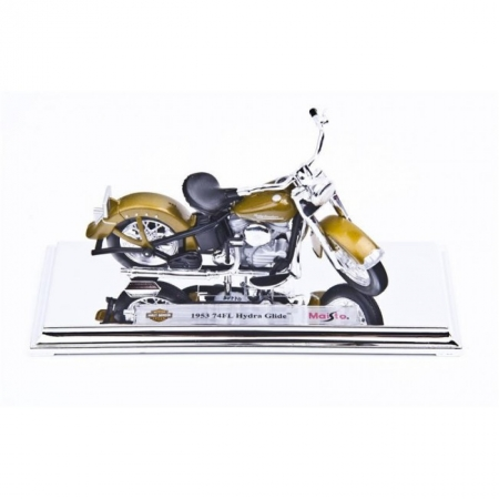 Модель мотоцикла Harley-Davidson 1953 74FL Hydra Glide. MAI39360-29