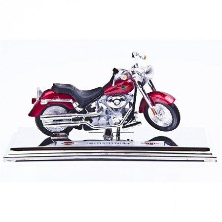 Изображение - Модель мотоцикла Harley-Davidson 2004 FLSTFI FAT BOY. MAI39360-28