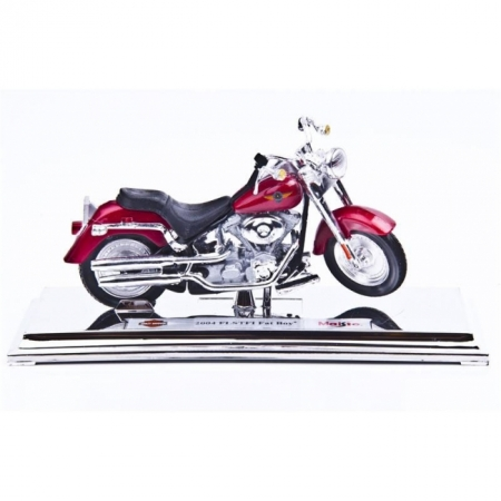 Модель мотоцикла Harley-Davidson 2004 FLSTFI FAT BOY. MAI39360-28