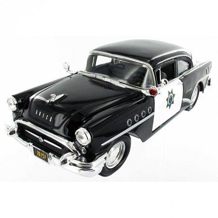Сборная автомодель 1955 Buick Century (чёрный). MAI39295B