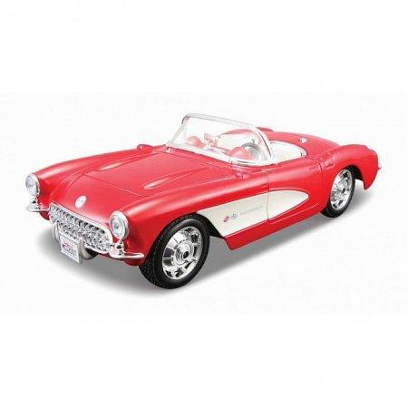 Сборная автомодель 1957 Chevrolet Corvette (красный). MAI39275R