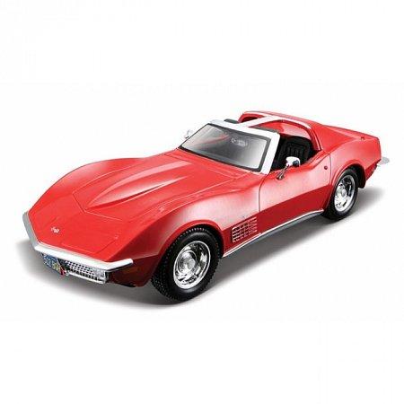 Изображение - Сборная автомодель 1970 Chevrolet Corvette (красный). MAI39273R