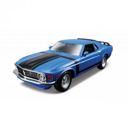 Изображение - Сборная автомодель 1970 Ford Mustang Boss 302 (синий). MAI39943B