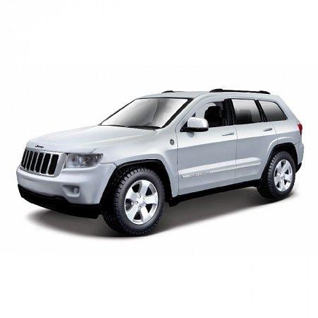 Сборная автомодель 2011 Jeep Grand Cherokee (серебристый). MAI39215S