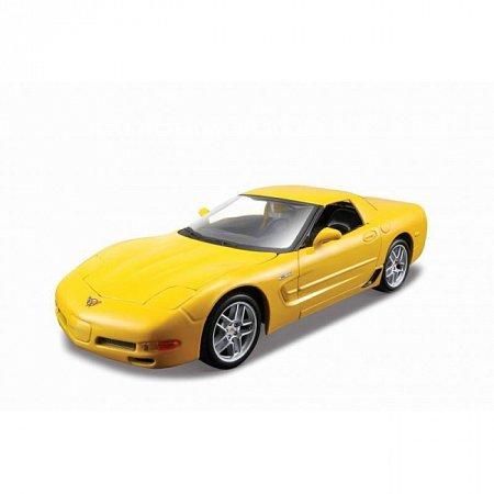 Сборная автомодель Corvett Z06 (жёлтый). MAI39989Y