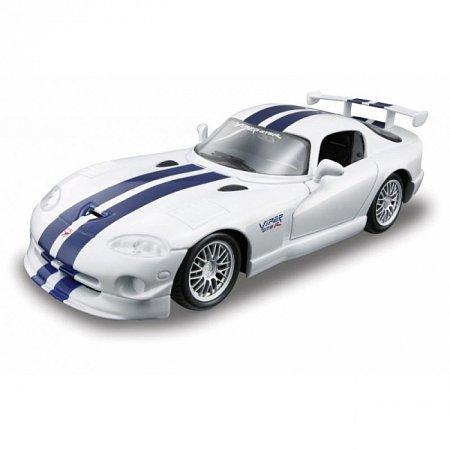 Сборная автомодель Dodge Viper GT (белый). MAI39945W