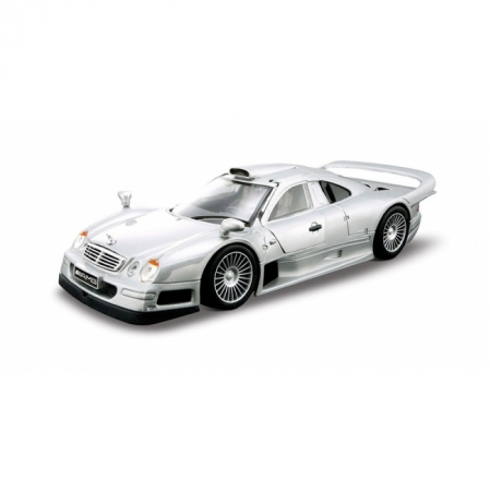 Сборная автомодель Mercedes CLK-GTR street version (серебристый). MAI39949S