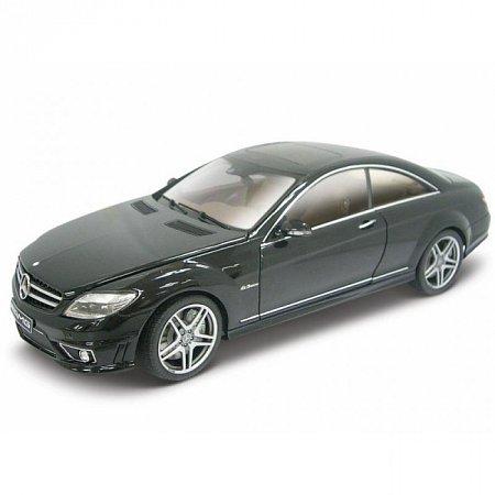 Сборная автомодель Mercedes-Benz CL63 AMG (чёрный). MAI39297B