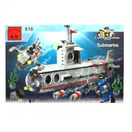 Изображение - Конструктор Brick Субмарина. К0816