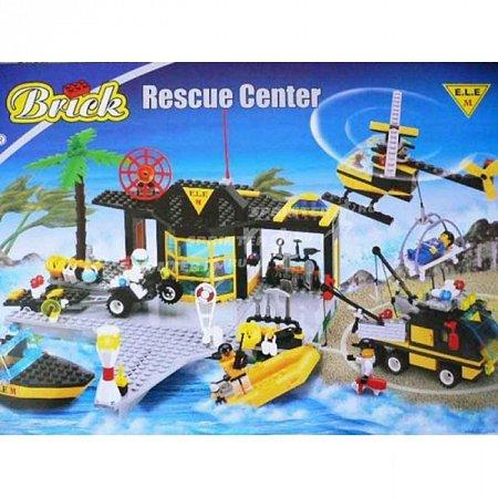 Конструктор Brick Спасательный центр. к0111