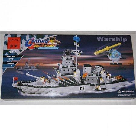 Конструктор Brick Военный корабль. к0112