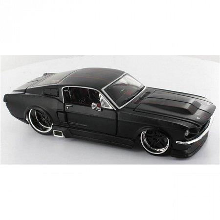 Автомодель 1967 Ford Mustang GT (чёрный - тюнинг). MAI31094B