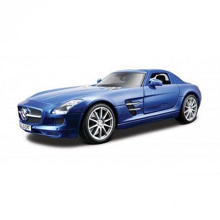 Автомодель Mercedes-Benz SLS AMG (синий металлик). MAI36196MB