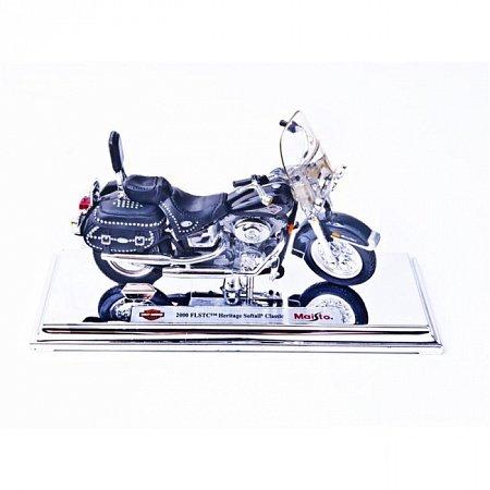 Модель мотоцикла Harley-Davidson 2000 FLSTS Heritage Softail Classic. MAI39360-39