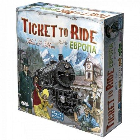 Ticket to Ride Европа (на русском языке) (1032)