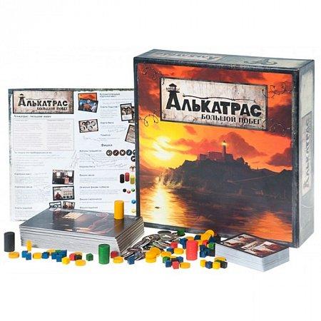 Настольная игра Алькатрас. Большой побег